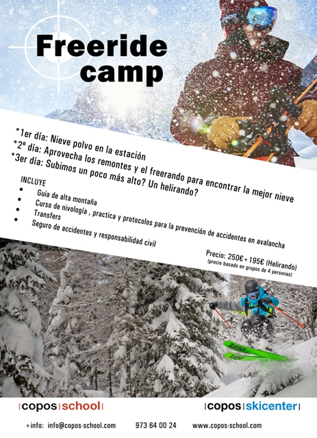Freeride camp